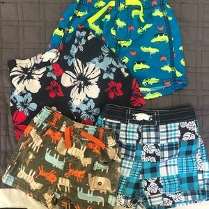 Other - Bundle Boys Swimming Trunks 3-6 months